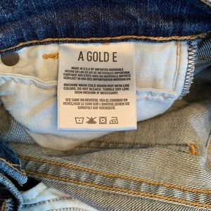Agolde Jeans - Agolde Sophie Midrise Ankle Skinny Dark Jean, 25!